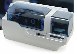 Refurbished:  Zebra P330i Color ID Card Printer