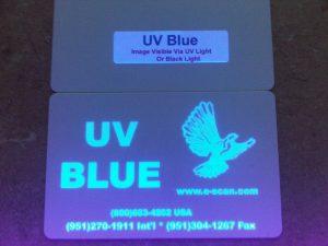 Zebra UV Blue Ribbon