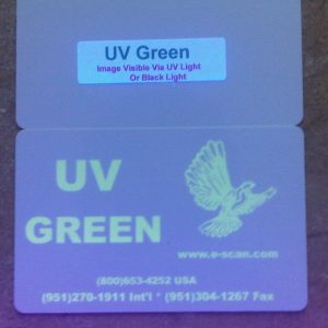 Zebra UV Green Ribbon, 1000 prints