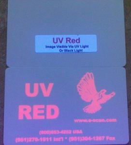 Zebra UV Red Ribbon