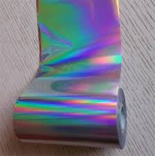 Silver Holographic Foil – 2″x200′