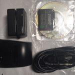 MPDC Portable Magstripe Reader, 512K, 3-tracks