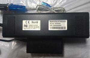 MSR606 Magstripe Reader/Writer, 3-Tracks, HiCo/LoCo, RS232