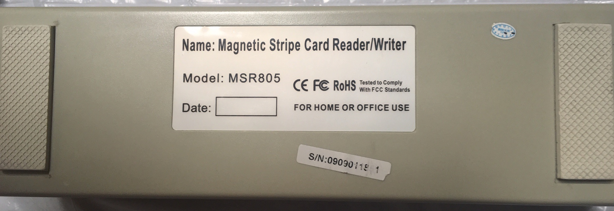 MSR805 Magstripe Reader/Writer
