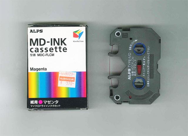 ALPS MD5000 Magenta Ink