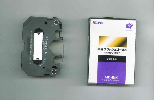 ALPS MD5000 Gold Foil Ink Cartridge