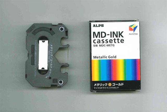 ALPS MD5000 Metallic Gold Ink Cartridge