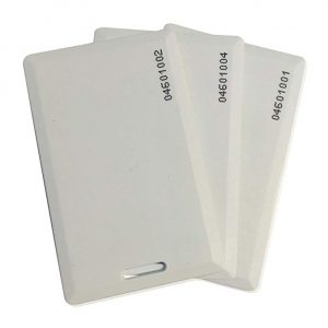 Proximity Clamshell Cards – ISO Prox 1386 1326 H10301, 50 card pack