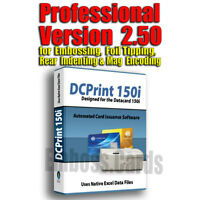 DCPrint Pro Software for DC150i Embosser Machine (Windows)