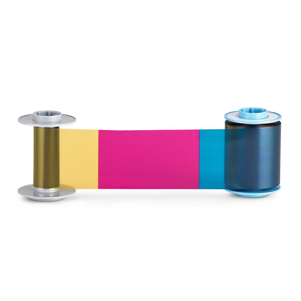 HDP6600XE Color (YMCK) Ribbon, 750 prints